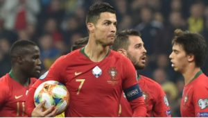 CR7 Portugal Career