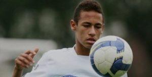 neymar jr. eaily life